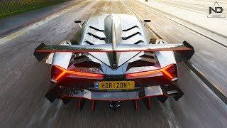 Forza Horizon 4 #8 - Chạy thử siêu xe Lamborghini Veneno   ND Gaming