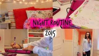 School Night Routine 2015!!