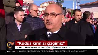 İstanbul Kudüs için ayakta