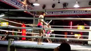 Muay Thai Swords Fighting (Nov 6, 2015 / Chiang Mai, Thialand)
