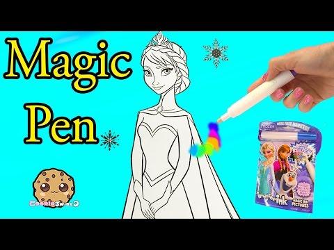 Xxx Mp4 Disney Frozen Imagine Ink Rainbow Color Pen Art Book With Surprise Pictures Cookieswirlc Video 3gp Sex