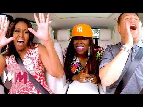 Top 10 Best James Corden Carpool Karaoke Performances