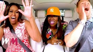Top 10 Best James Corden Carpool Karaoke Performances