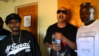 Young Murder Squad - Bang On The P (video shoot footage) Part.2