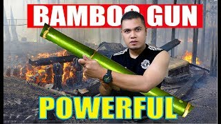 How to Make Bamboo Gun that can Real Shoot