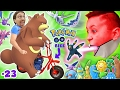 Download Lagu GAMING on my MINI-BIKE! Father & Sons POKEMON GO Gen 2 Adventure w/ Little Hack Cheaters! FGTEEV #23