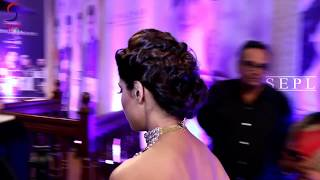 Shamita Shetty Adjusting Her B.r.a & Flashing  Back