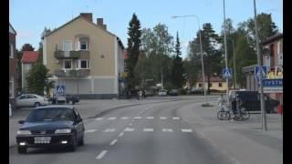 E45 Inlandsvägen Hoting Sverige