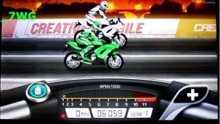 Drag Racing Bike Edition: How To Tune A Level 1 Ninja 650 6.059s 1/8mile!