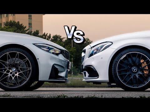 [국내최초] M? AMG? 궁금해서 그냥 둘다 샀다! l M4 컴페티션 vs AMG C63s 쿠페