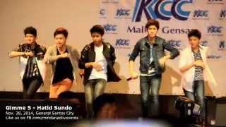 Gimme 5 Live - Hatid Sundo Latest Mall Show in Gensan