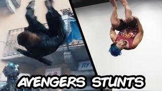 Doing Stunts From Marvel