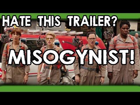 Ghostbusters Trailer Gets 500k+ Dislikes! Misogyny?!