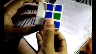 Rubik's Cube solve by rakib রুবিক্স কিউব মেলানো in bangla