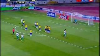 """كأس مصر 2016 - تسديدة رائعة من اللاعب """" كابوريا"""" من ركلة حرة مباشرة على مرمى """"عواد"""""""