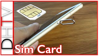 How To Insert/Remove Sim Card From iPhone 6s and iPhone 6s Plus