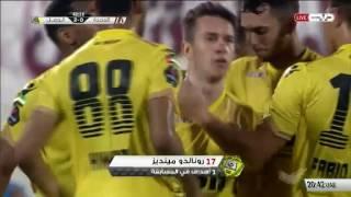 أهداف مباراة الوحدة والوصل 21\10\2016   دوري الخليج العربي الاماراتي