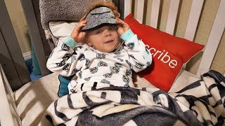 3 Year Old Tydus NIGHTTIME ROUTINE!!