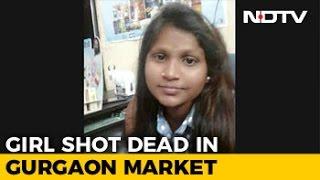 Teen Patanjali Salesgirl Shot Outside Store, Murder Caught On CCTV
