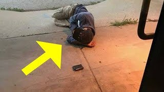 Animal shelter sees homeless man sleeping outside door, are devastated when they realize why