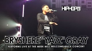 Meek Mill Brings Out Empire's Bryshere Yazz Gray At His Welcome Back Concert (3/21/15)