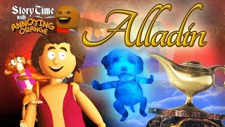 Annoying Orange - Storytime: Aladdin!