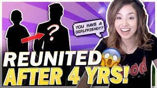 POKI REUNITES WITH A 12 YR OLD AFTER 4 YEARS! Fortnite Duos!