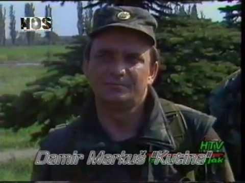 Osijek i Tenja 1991 Domovinski rat Kutina