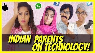 Indian Parents & Elders on Technology | #AnishaTalks