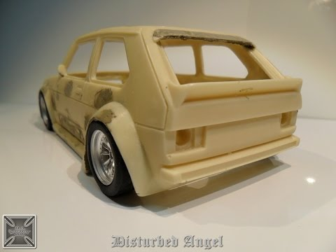 How to make a two part mold seconda parte 1 43 Wheels Cars resin