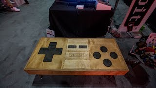 Coffee table-sized NES controller