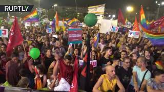 80,000 Israeli homosexuals protest against being deprived of rental of wombs ¦ middle east news