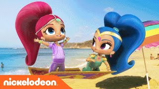 Shimmer and Shine | Summer | Music Video | Nickelodeon