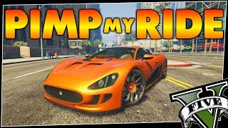GTA 5 - Pimp My Ride #220 | Ocelot XA-21 | UNRELEASED CAR 🔥 Customization