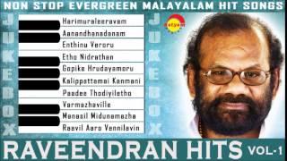Evergreen Malayalam Songs | Raveendran Vol-1 Audio Jukebox
