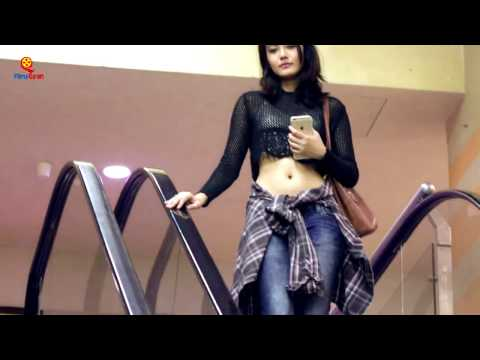 What Happens When A Girl Touch Strangers Hand On Escalator PRANK In INDIA.