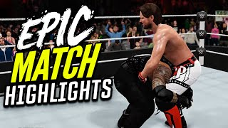 WWE 2K16 Extreme Rules 2016 Roman Reigns vs. Aj Styles | Epic Match Highlights!