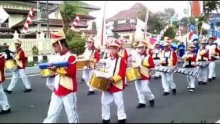 Lagu Padang Bulan Versi Drum Band