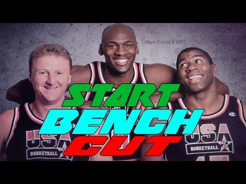 NBA START, BENCH, CUT