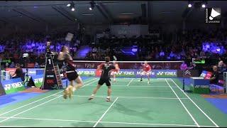 Lee Yong-dae / Yoo Yeon-seong vs Mathias Boe / Carsten Mogensen - MD SF [Denmark Open 2014]