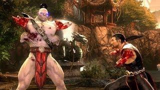 Mortal Kombat Komplete Goro Armless! Test Your Luck Madness