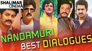 Nandamuri Family Best Telugu Punch Dialogues    N.T.R, Balakrishna, Harikrishna, Kalyan Ram