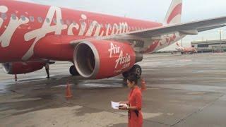 ตื่นเต้น นั่งเครื่องบินแอร์เอเชีย Airasia จากเชียงใหม่ กลับดอนเมือง กรุงเทพฯ ครั้งแรก