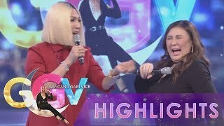 GGV: Vice Ganda tries to convince Sharon Cuneta to smell his armpit