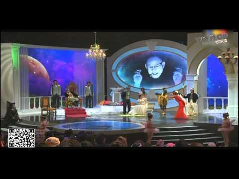 Neelofa kena warning dgn Scha & Nabila Huda @ Anugerah Skrin 2012 [HD]