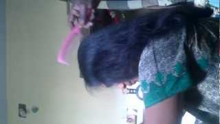 Tamil girl haircut.avi