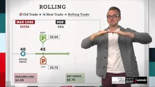 Rolling a Trade | Options Trading Concepts