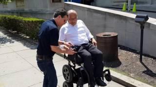 iBot Segway wheelchair by Dean Kamen