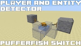Minecraft Player & Entity Detector - Puffer Fish Switch  (PFS)