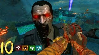 NUKETOWN ROUND 50 NO QUICK REVIVE WORLD RECORD ATTEMPT!!! - BLACK OPS 2 ZOMBIES GAMEPLAY